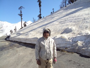 At Gulaba - Inbetween Manali & Rohtang Pass