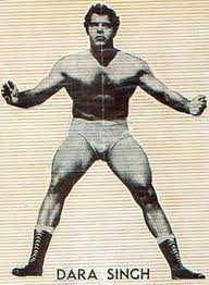 Dara Singh - A Young Wrestler