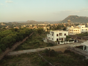 View of Udaipur from My Room's Window