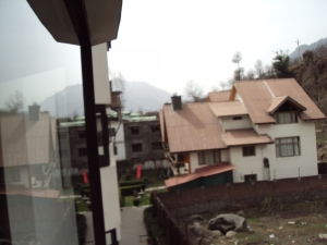 View of The Cottages from My Room in Hotel Quality Inn - Manali