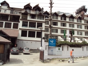 The Exterior of Quality Inn - Manali