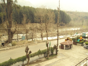 Front View from My Room in Hotel Quality Inn - Manali