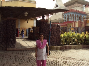 My Wife at The Ashram of Sant Keena Ram