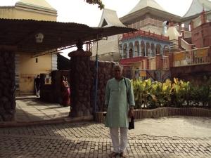 At Keena Ram Baba Ashram