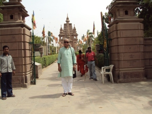 Mulagandhakuti Vihara Buddhist Temple - Sarnath