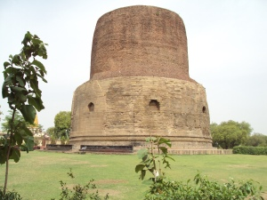 The Dhamekh Stupa - Sarnath