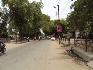 Main Road of Sarnath City