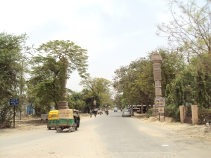 Main Entrance of Sarnath City