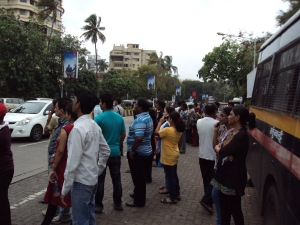 Crowd at Aashirvad on July 22