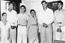 With Indira Gandhi, Rajiv Gandhi, Sanjay Gandhi & Amitabh Bachchan