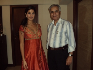 With katrina Kaif In Her Apartment