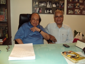 With Shri Roshan Taneja in His Office