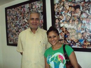 With Sai Deodhar
