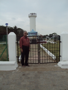 At Tsunami Victim Memorial - Karaikal