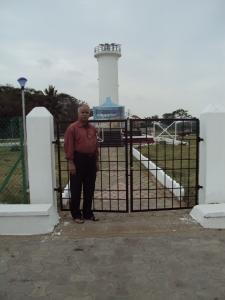 At Tsunami Victim Memorial - Karaikal