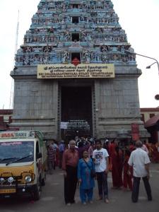 With My Wife & Son At Saneeswar Bhagwan Temple - Thirunallar , Karaikal