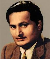 B. M. Vyas in His Younger Days