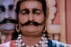 "As Ravan in "" Sampoorn Ramayan """