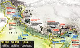 India China Border -  Conflict Zone