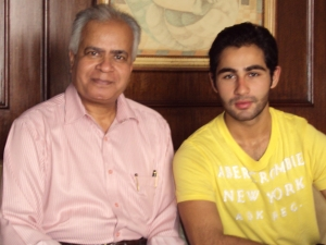 With Armaan Jain in His Apartment