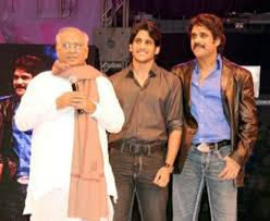 ANR Garu with His Son Nagarjuna & Grandson Nag Chaitanya