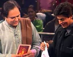 As TV Host of Jeena Isi Ka Naam Hai with Shah Rukh Khan
