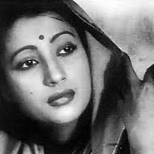 Suchitra Sen as Paro in Hindi Devdas