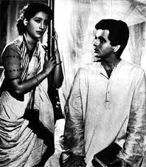 Suchitra Sen as Paro in Hindi Devdas with Dilip Kumar