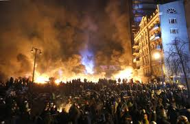 Burning Ukraine
