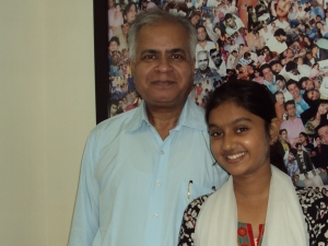 With Tanvi Rao in My Office