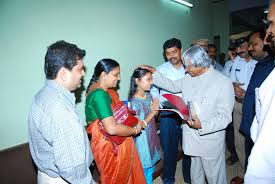 11th President  of India A.P.J. Abdul Kalam Blessing Tanvi Rao