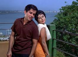 "With Shashi Kapoor in ""Jab Jab Phool Khile"""