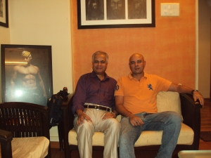 With Mr. Atul Agnihotri in His Office