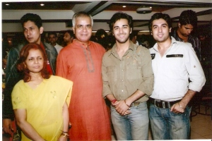 With Pulkit Samrat & Amit Kapoor in a Party