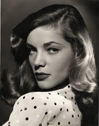 Lauren Bacall in Her Famous Inviting Look