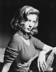 Lauren Bacall in Her Iconic Pose