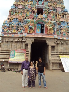 2012 at GURU Temple with my wife & son