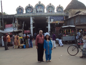 Picture taken in 2012 at ANGARAKAN [ MANGAL ]  Temple : My wife
