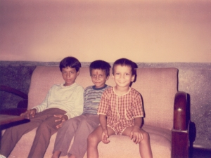 My 3 Sons : [ From Right to Left ] Nitin, Abhinav & Gaurang