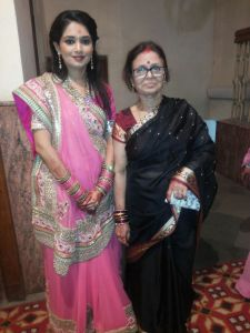 NAMITA With My Wife