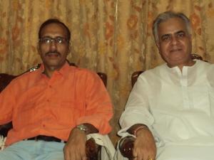 With Shri Krishna Mohan Shukla