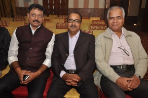 With Shri Gyan Prakash Chaturvedi [ Extreme Left ] & My Brother Devesh [ Middle ]