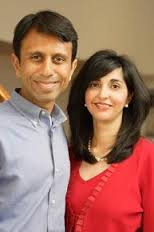 Bobby Jindal & His Wife Supriya Jolly