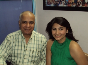 With Daisy Shah In My Office