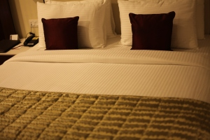 Bed in Hotel Lords - Jodhpur