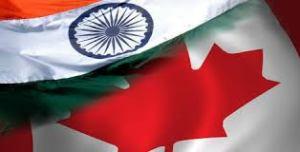 Flag of India & Canada