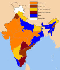BJP Rulred States After 2014 Lok Sabha Elections