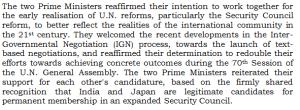 UNSC Reform