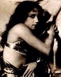 Lalita Pawar in a Silent Film