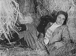 Lalita Pawar in a Silent Film of 1940